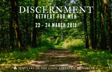 Discernment Retreat for Men
